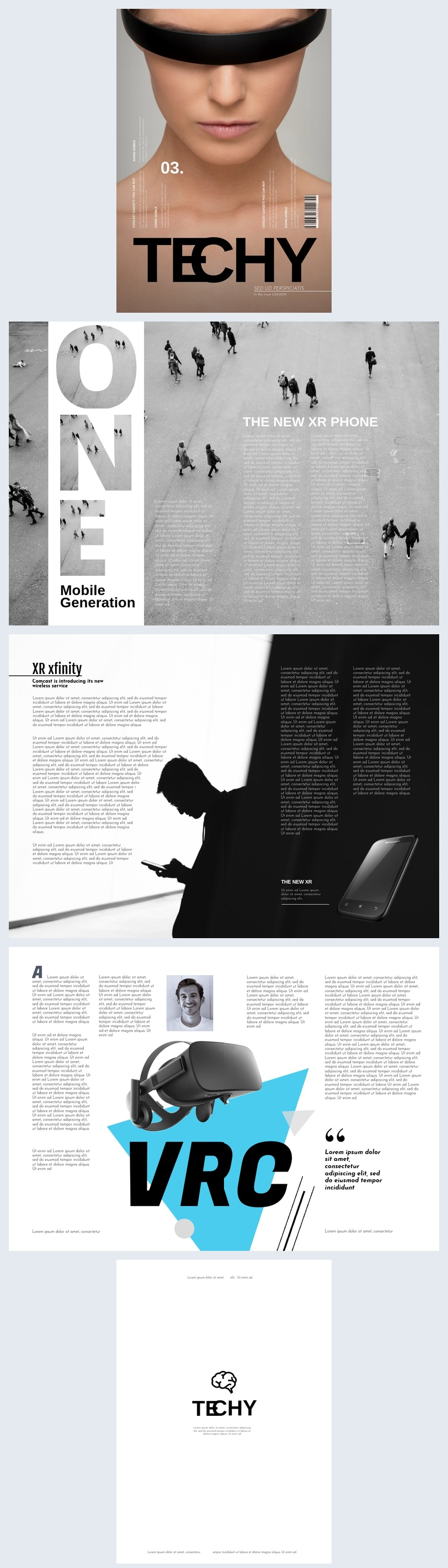 Creative Tech / Technology Magazine Template