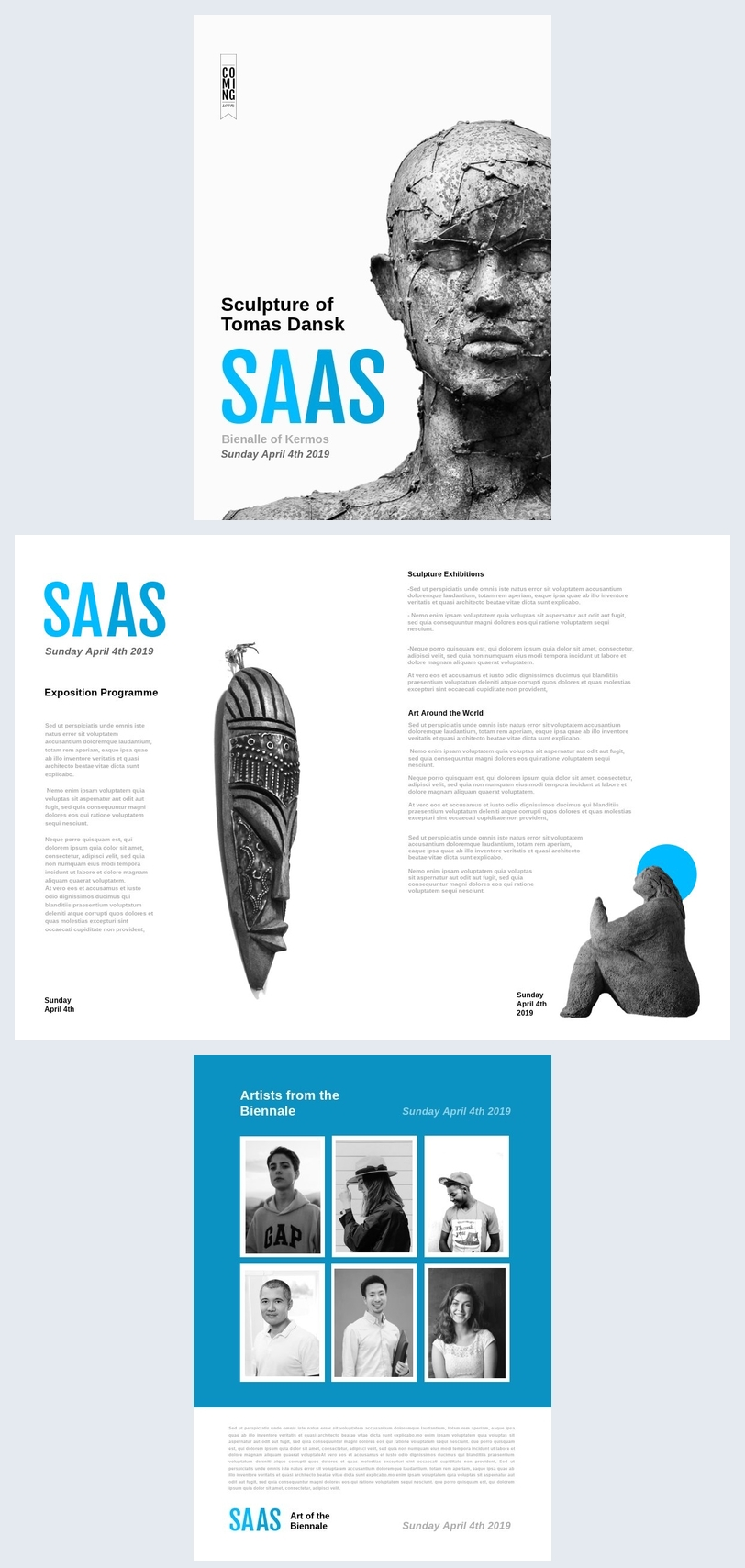 Promotional / Advertising Brochure Template