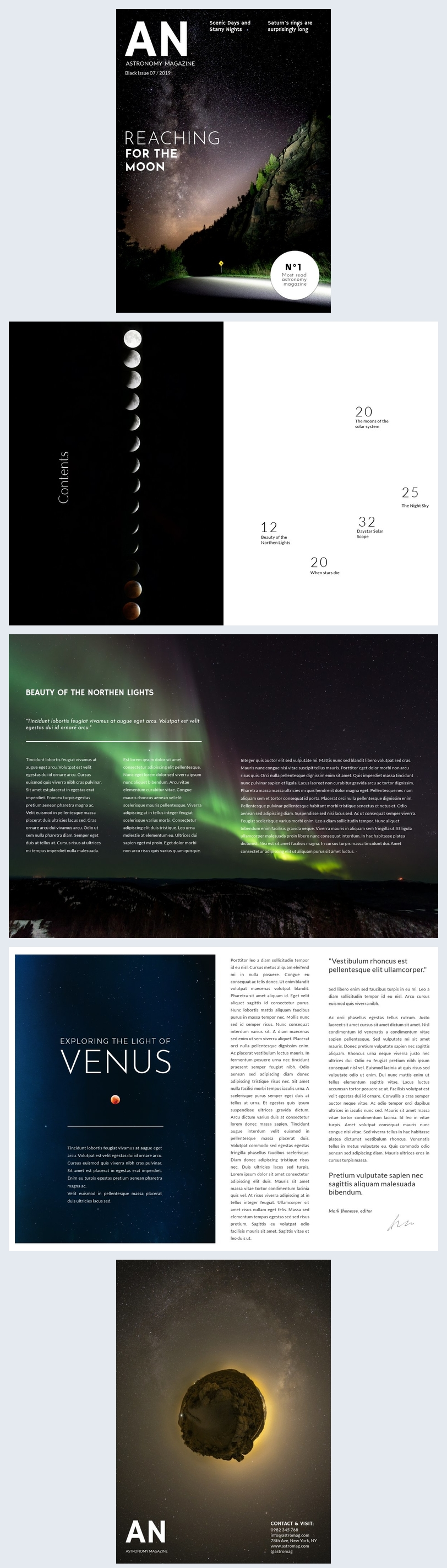 Science Magazine Template
