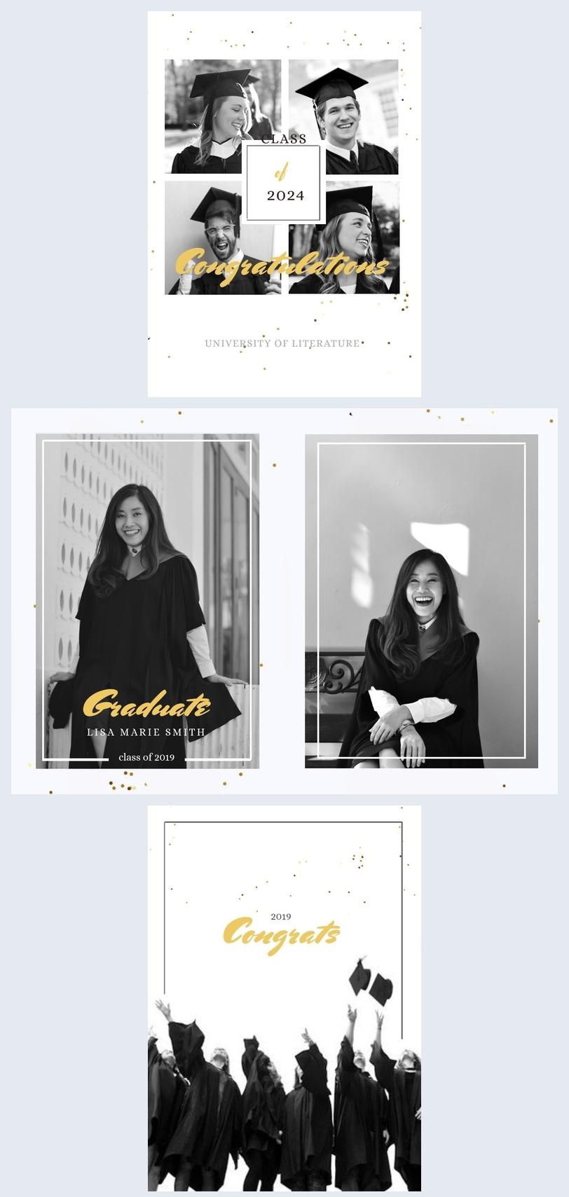 University Graduation Photo Album Design
