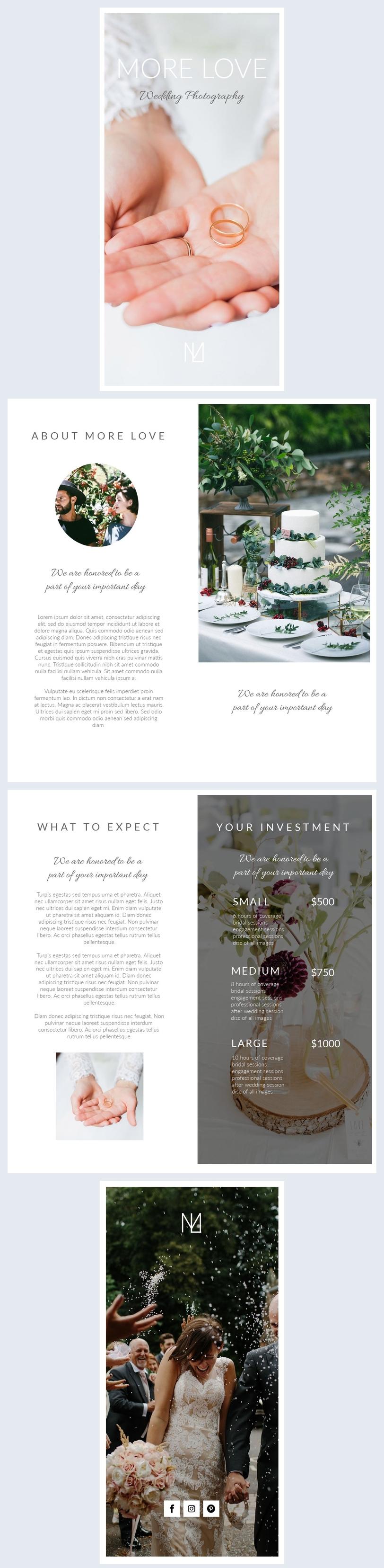 Wedding Booklet Design