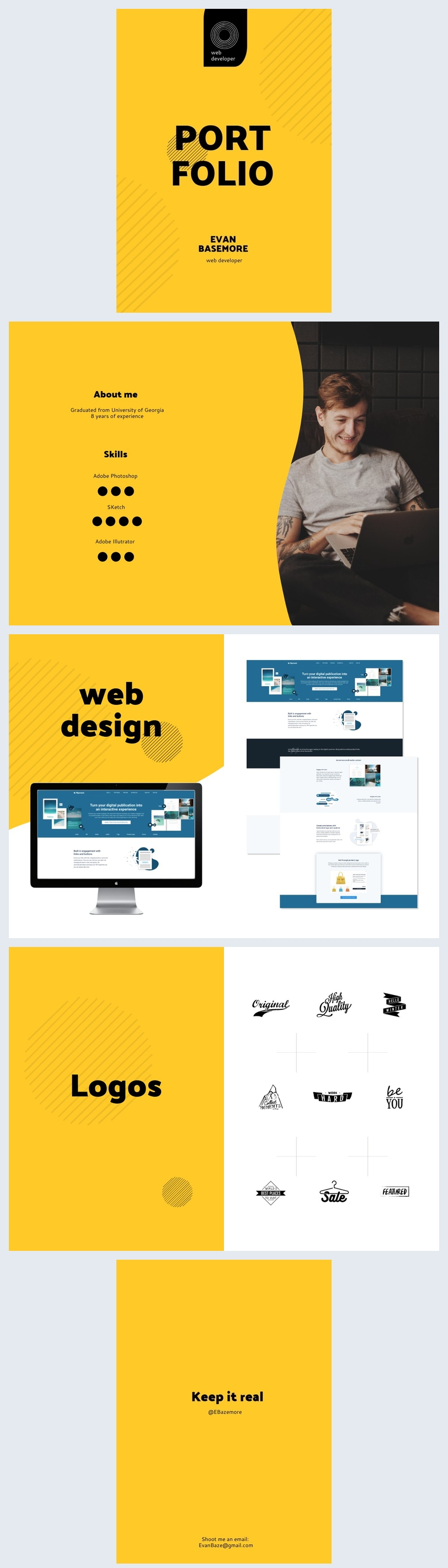 Web Developer Portfolio Template