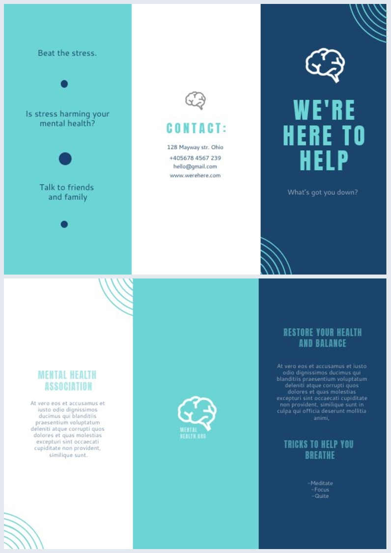 Mental Health Brochure
