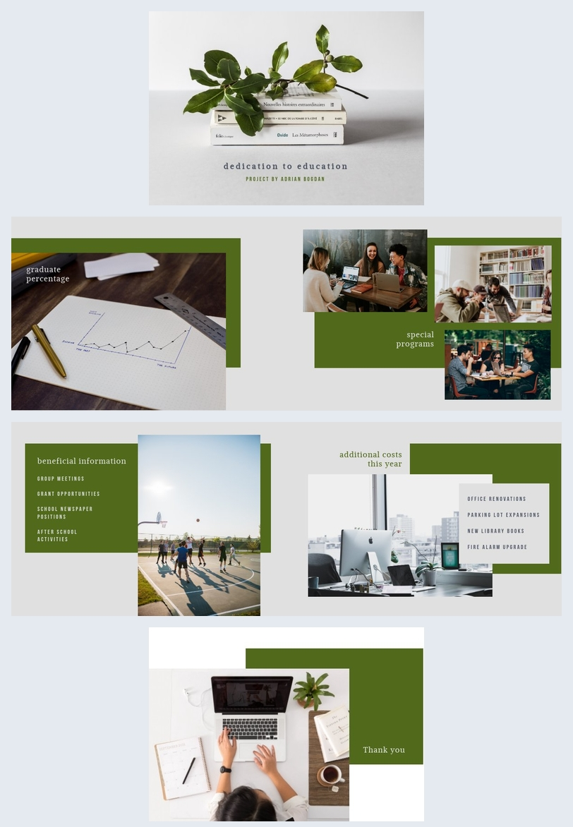Education Presentation Template