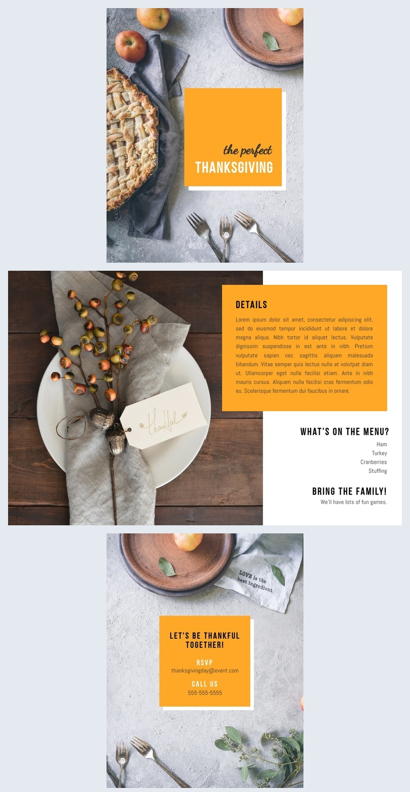 Bi Fold Brochure Layout