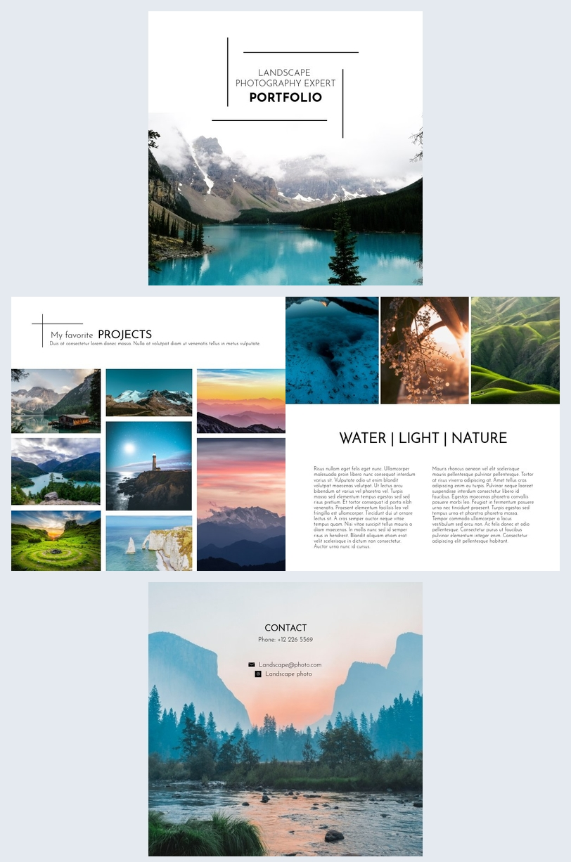 Landscape Photography Portfolio
