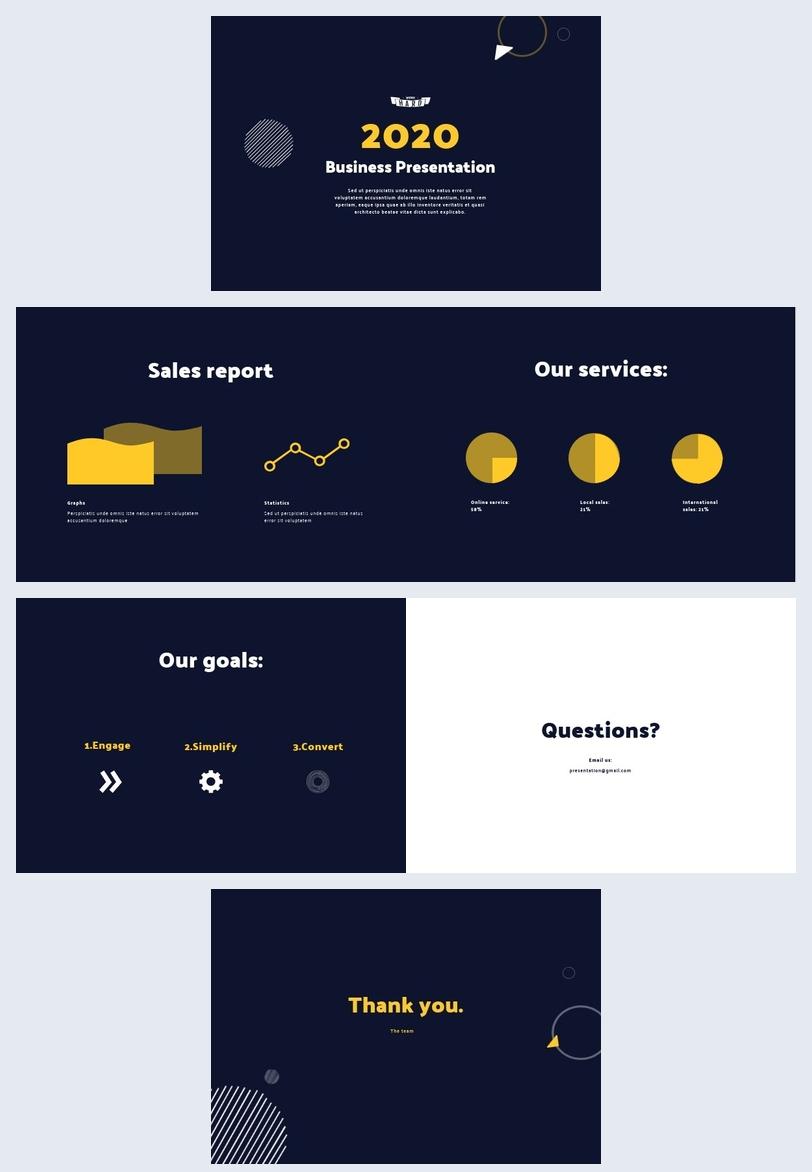 Modello per presentazione aziendale