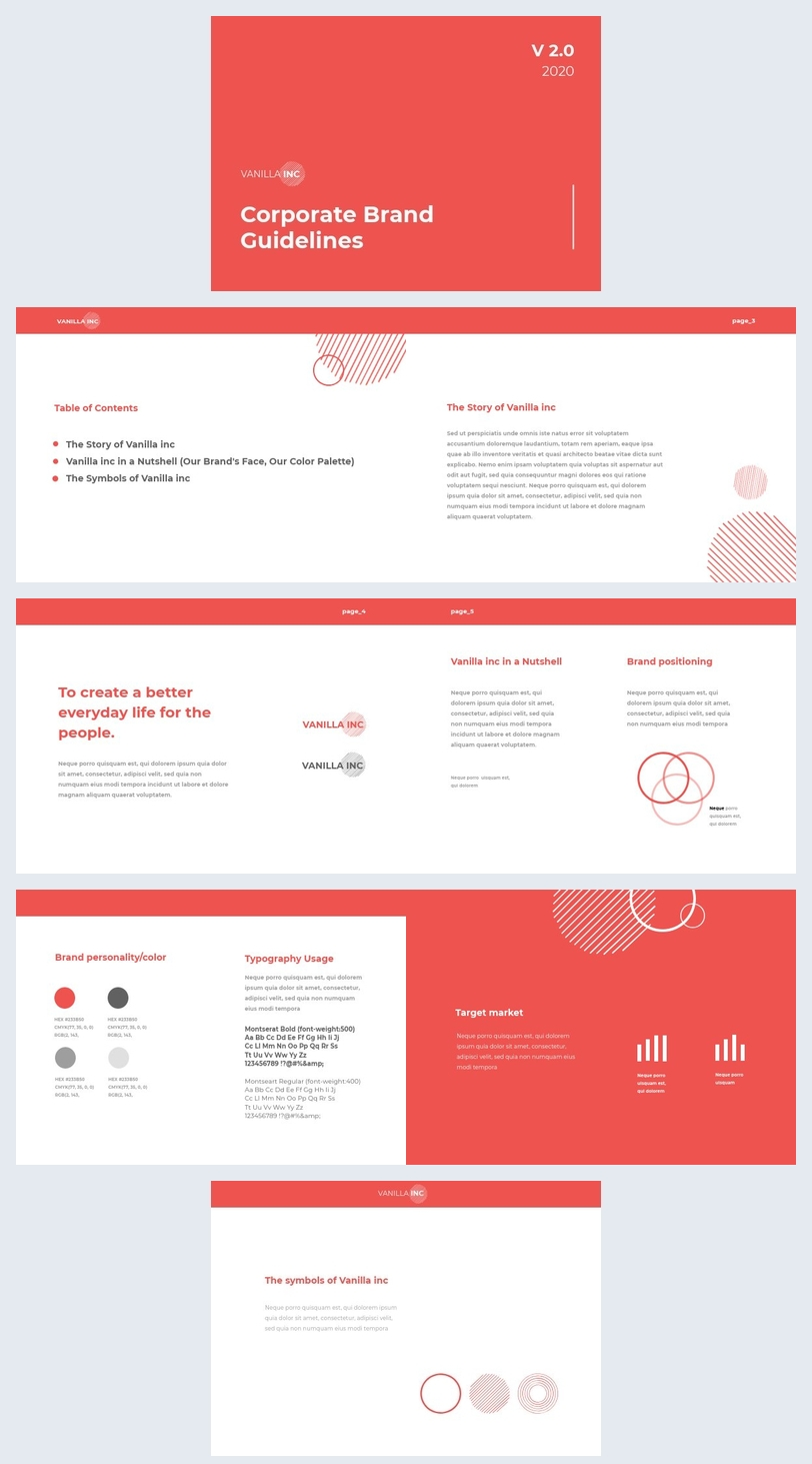 Corporate Guidelines template