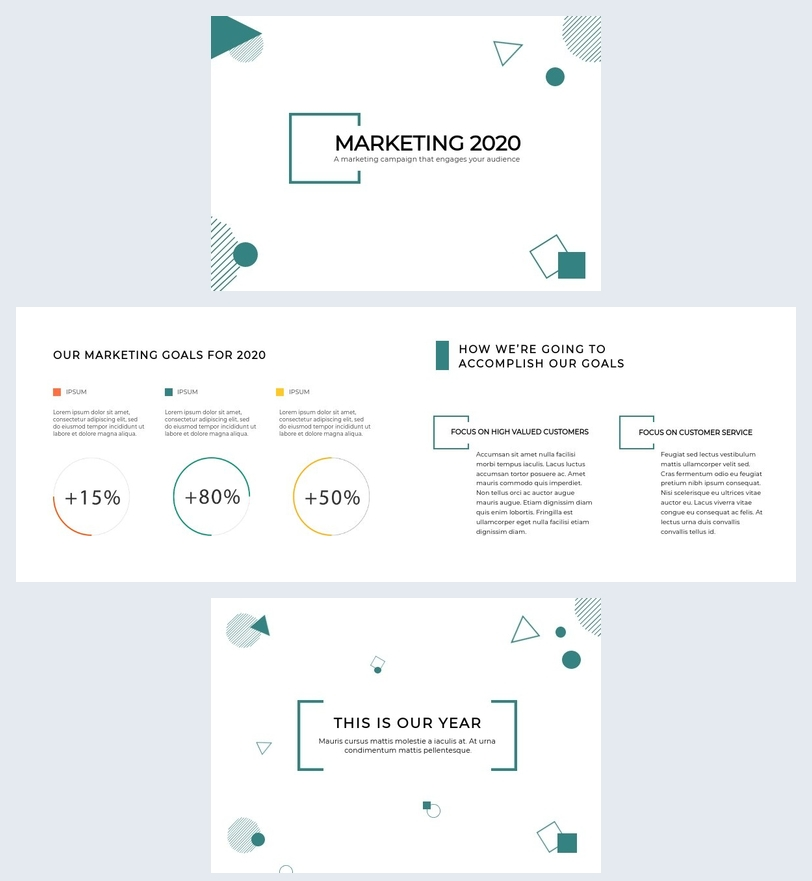 Marketing Campaign Presentation Template
