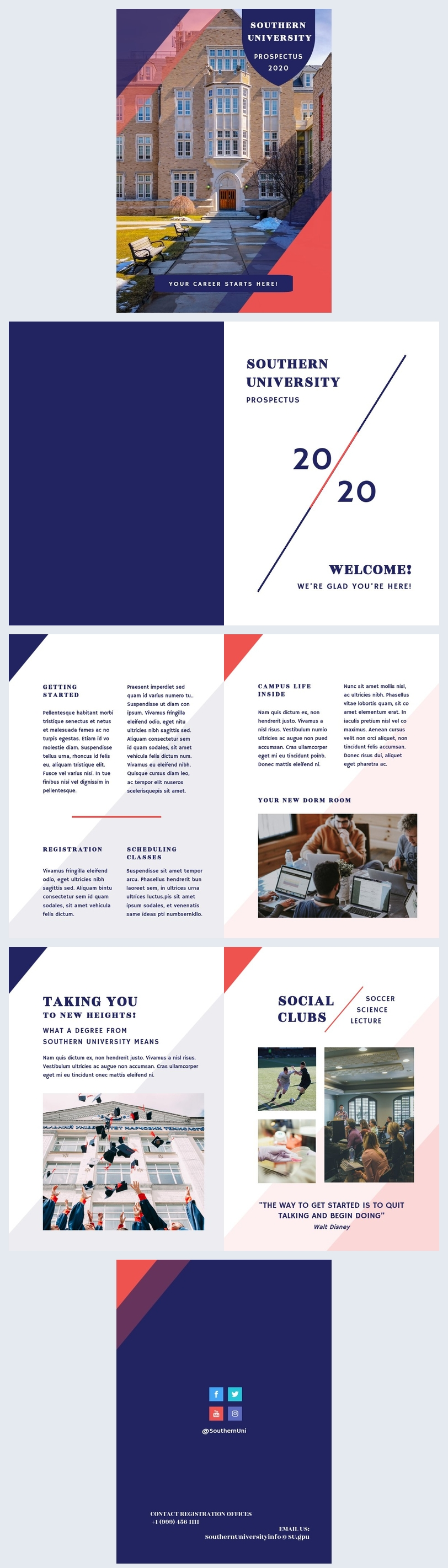 Prospectus Design Template