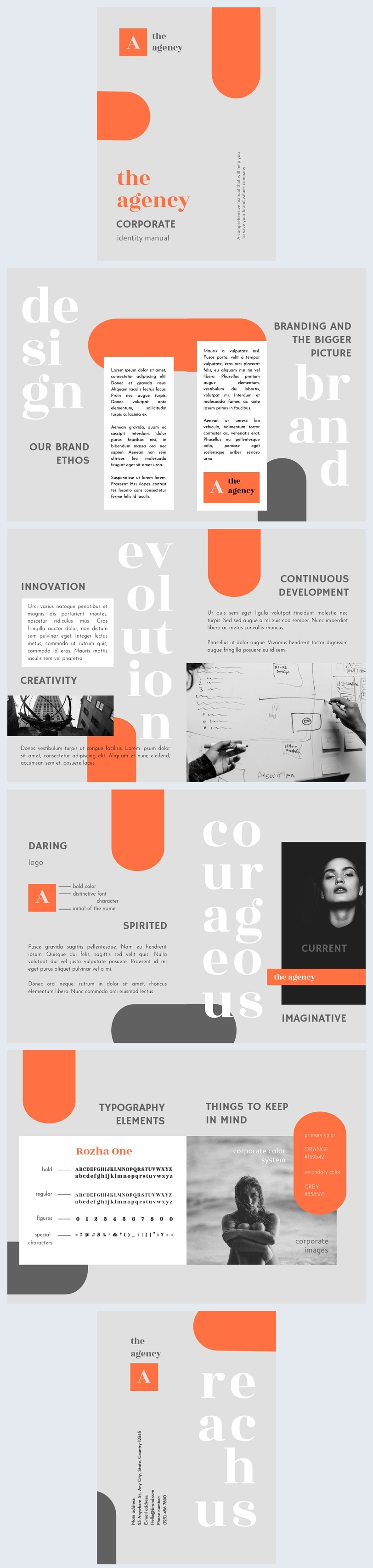 Corporate Identity Manual Template