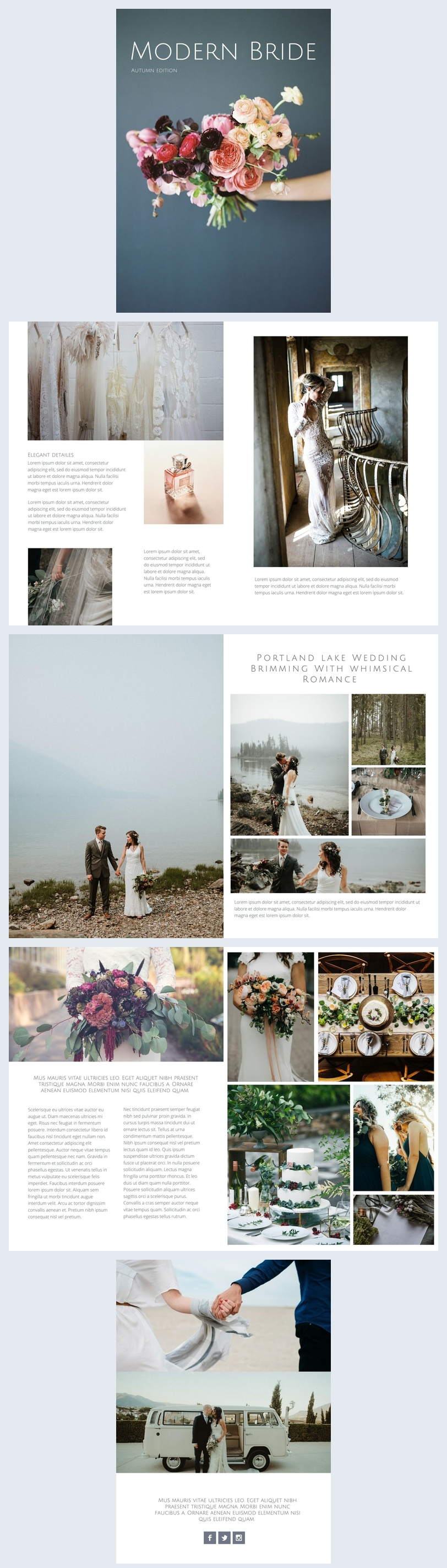 Wedding Photo Album Design