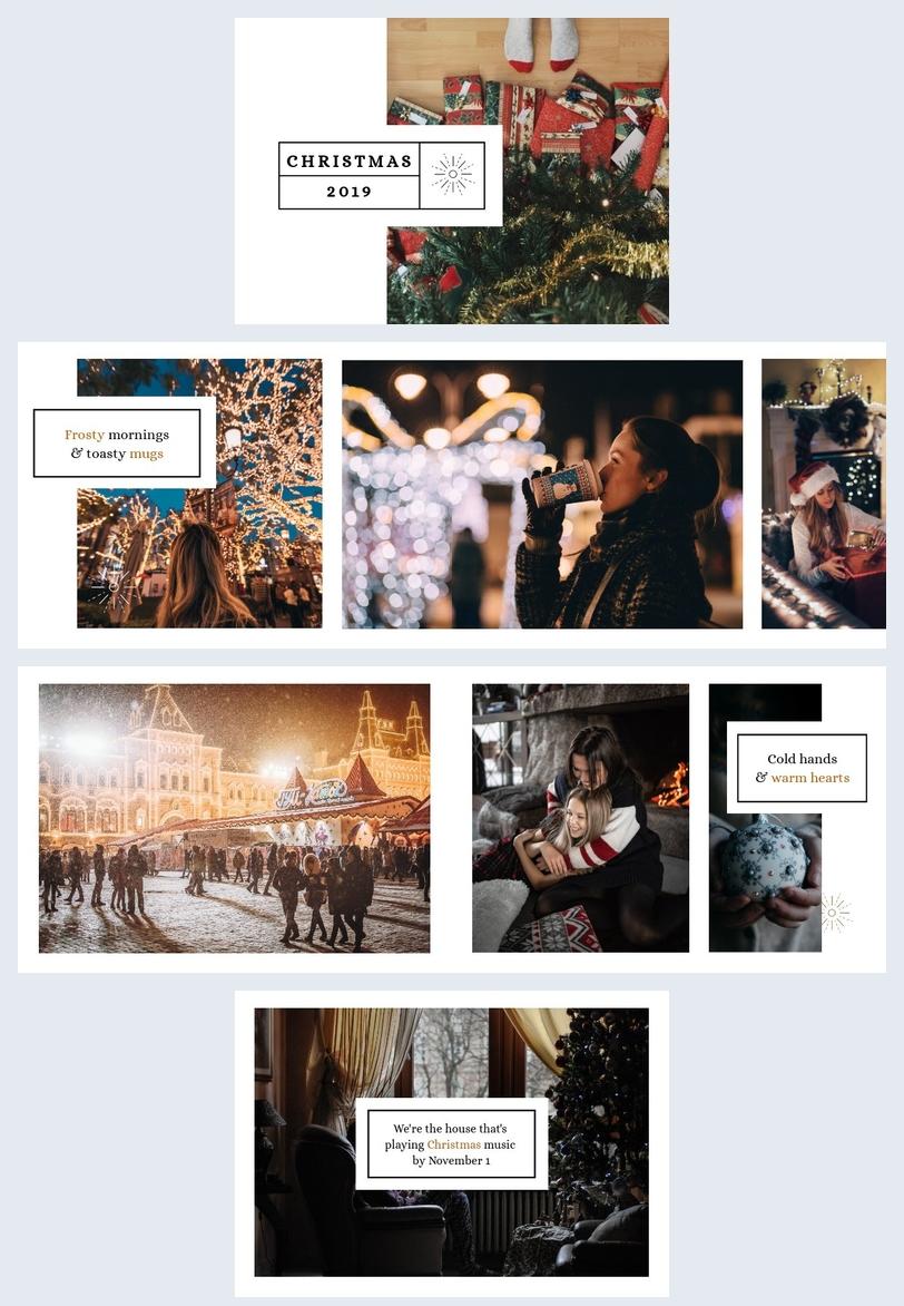 Christmas Album Template