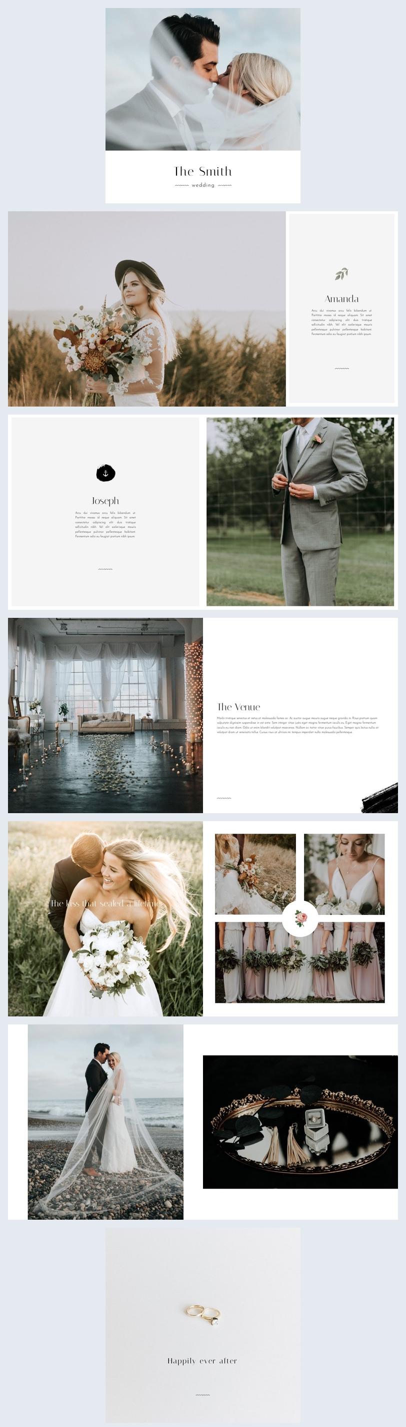 Album de mariage en ligne