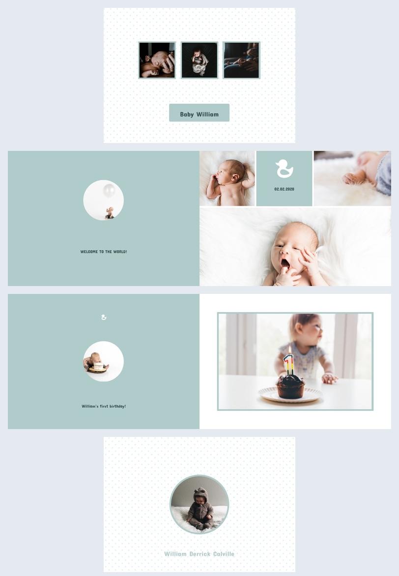 Album photo pour bébé garçon
