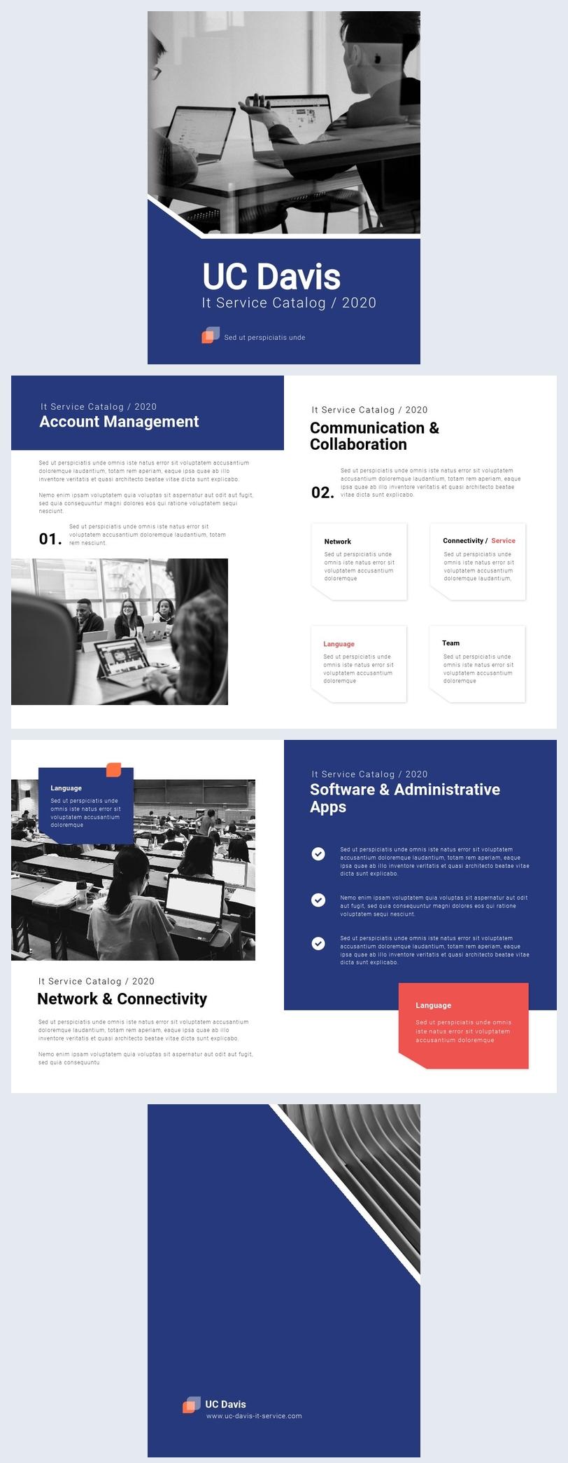 Modèle de catalogue de services informatiques