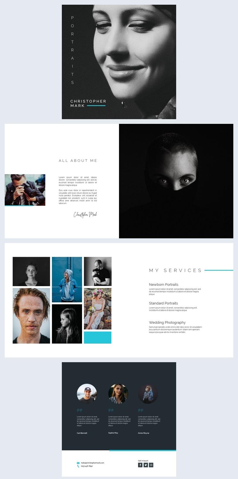 Portfolio de photographie numérique
