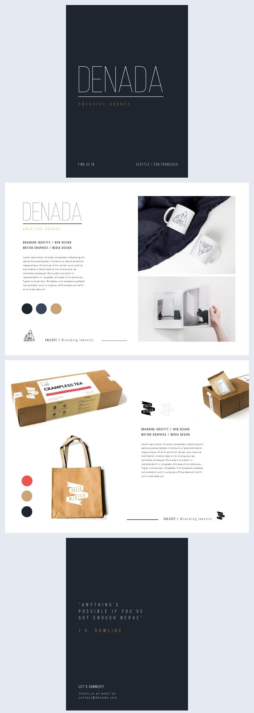 company portfolio design