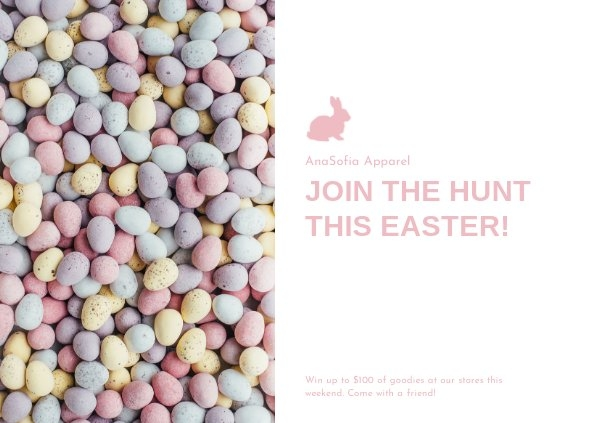 Free Easter Invitation Card Template