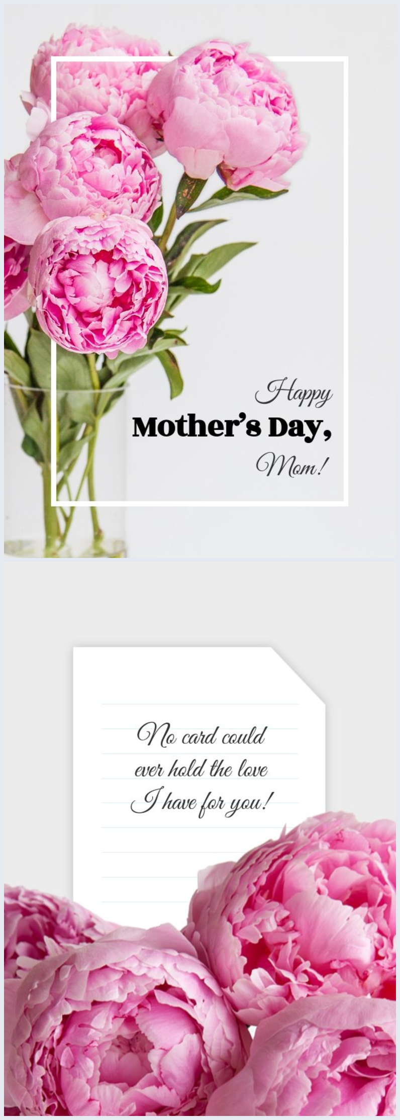 Mother's Day Card Template & Design