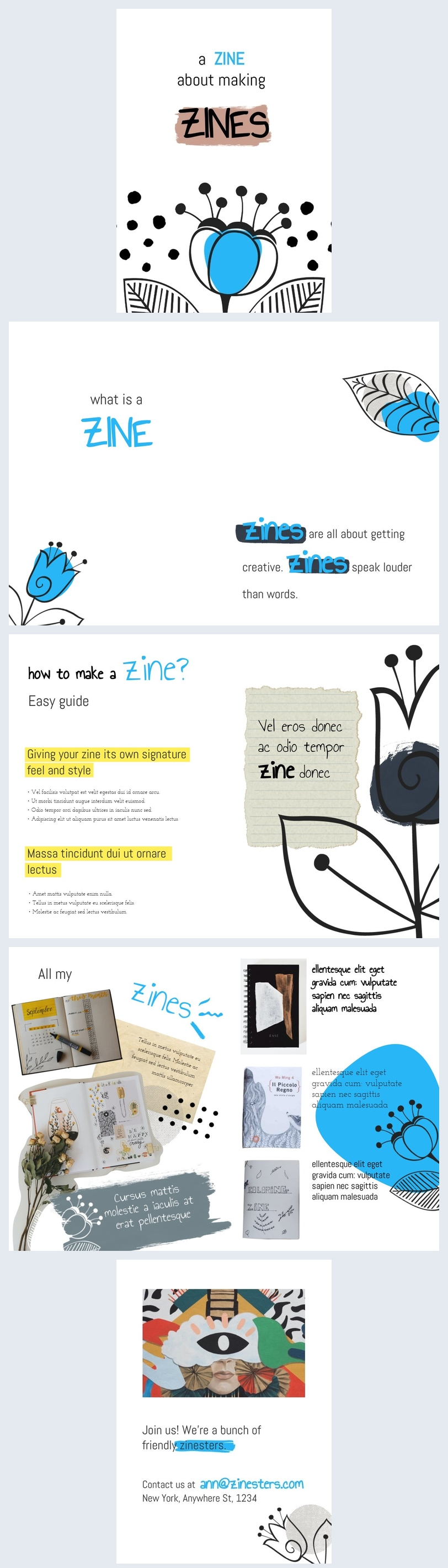 How to Make a Zine Idea