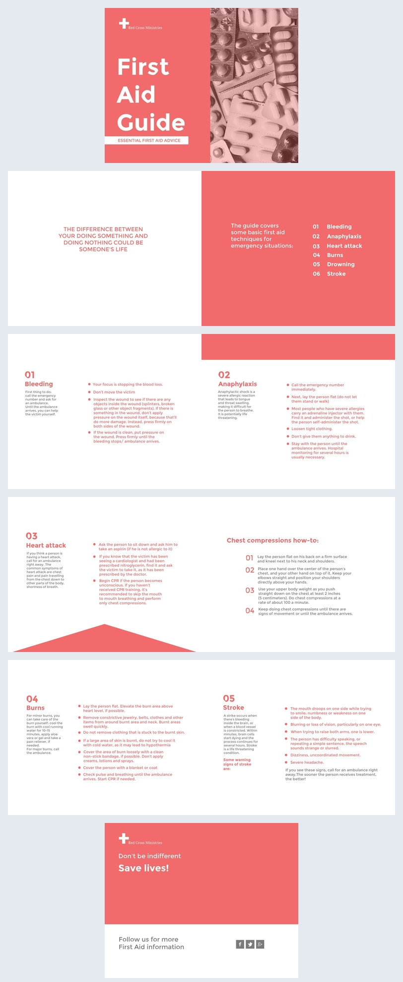 First Aid Guide Design Example