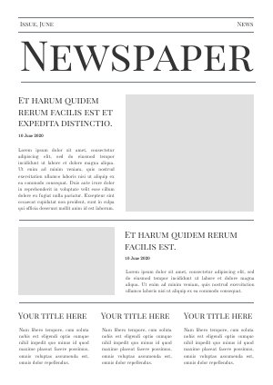 Front Page Newspaper Template from cdn.flipsnack.com