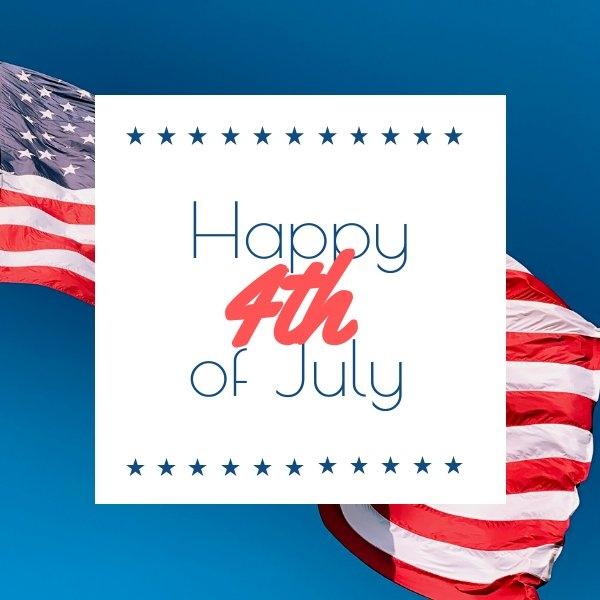 Fourth of July editable design