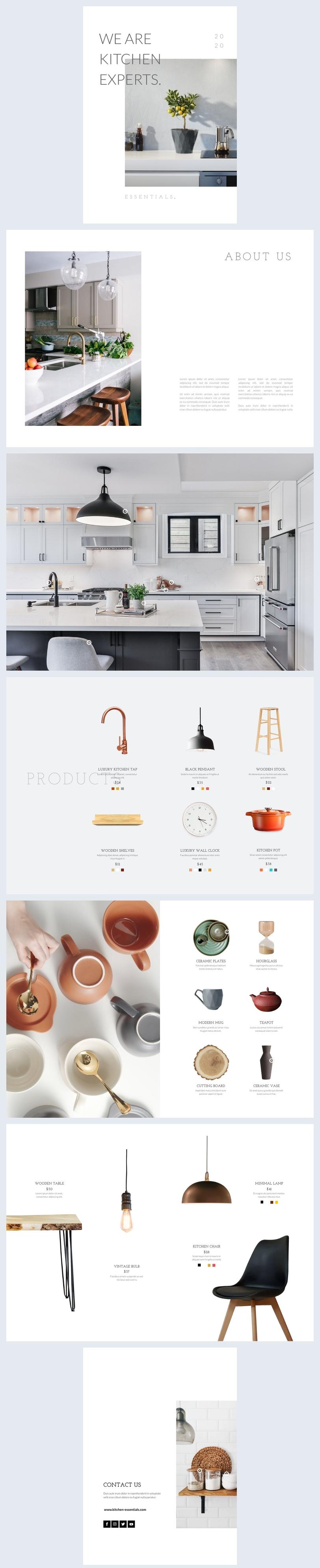 Beispiel für einen automatisierten Produktkatalog