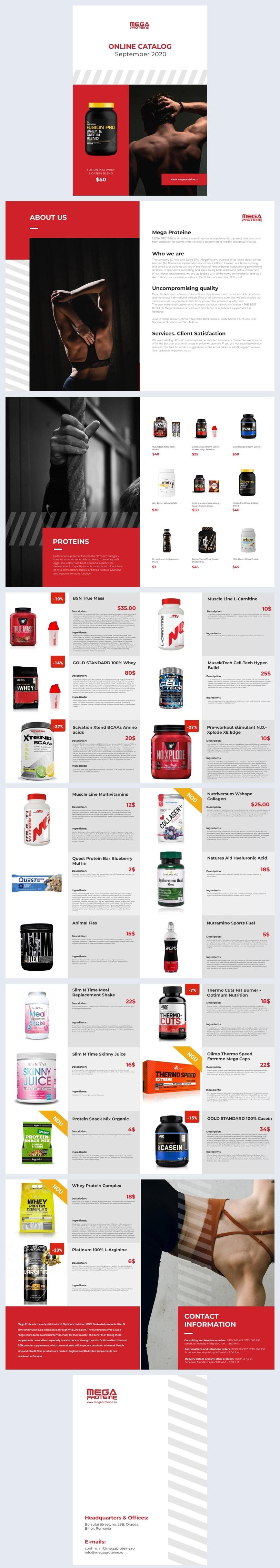 Design de Catálogo de Produtos Online Automatizado