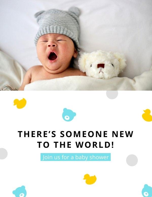 Babyparty-Karten-Design-Idee