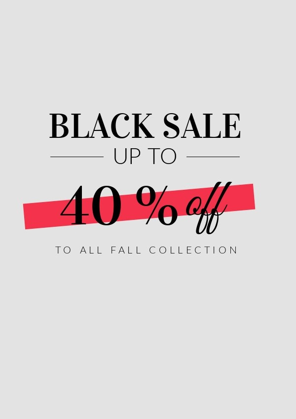 Black Friday Sale Flyer Example