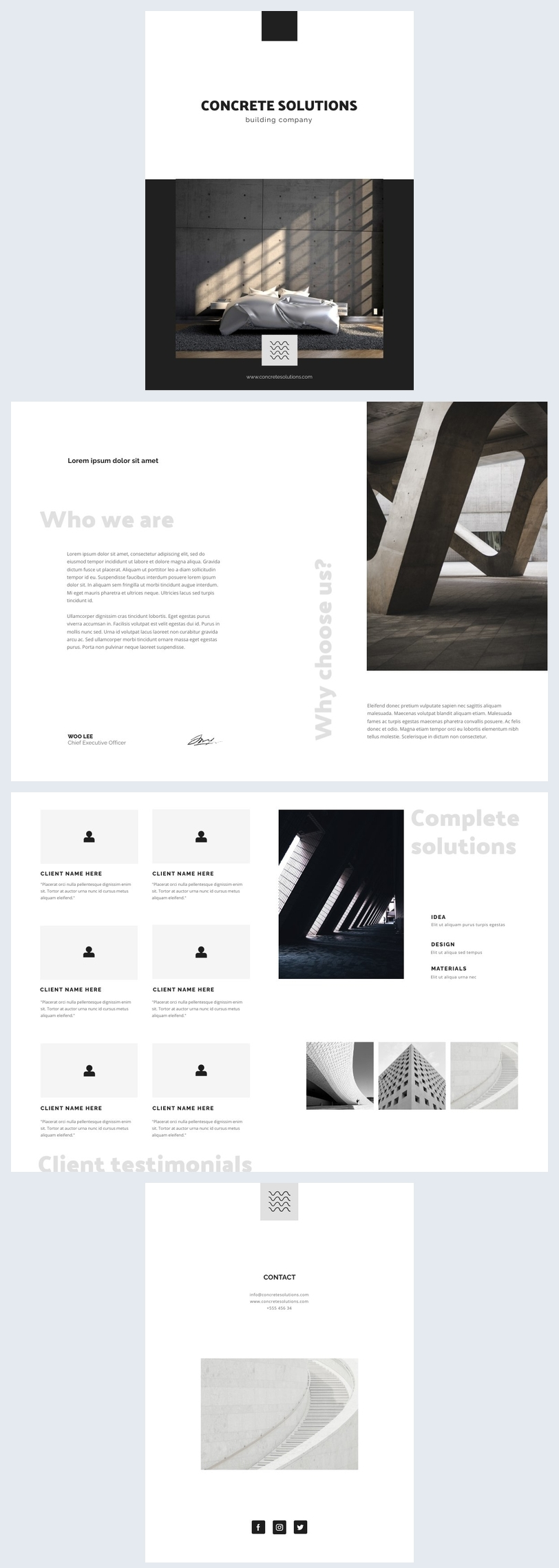 Customizable Free Booklet Template Example