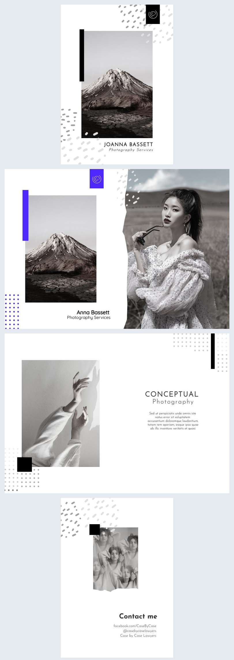Photography Booklet Design Inspiration