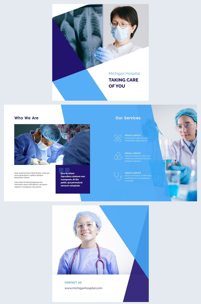 Medical Booklet Design Example