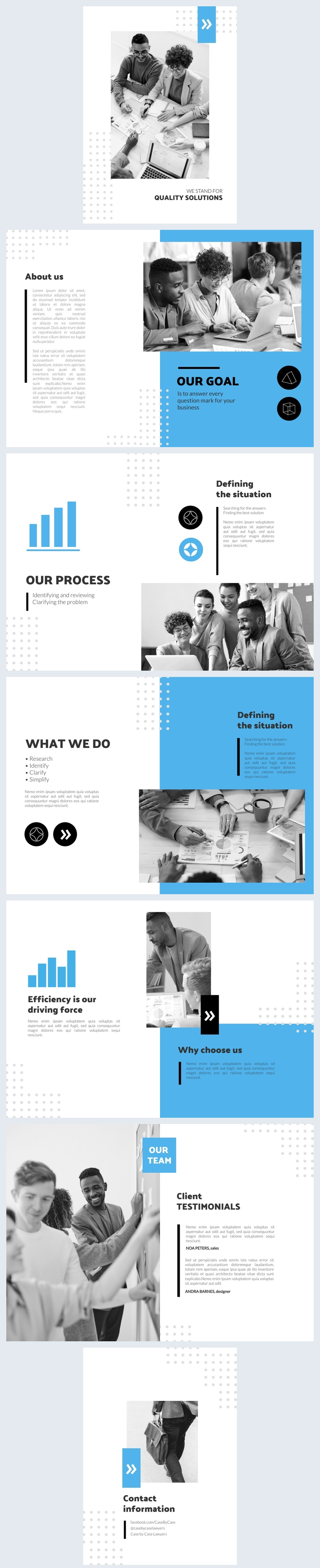 Customizable 12 Page Booklet Design Layout