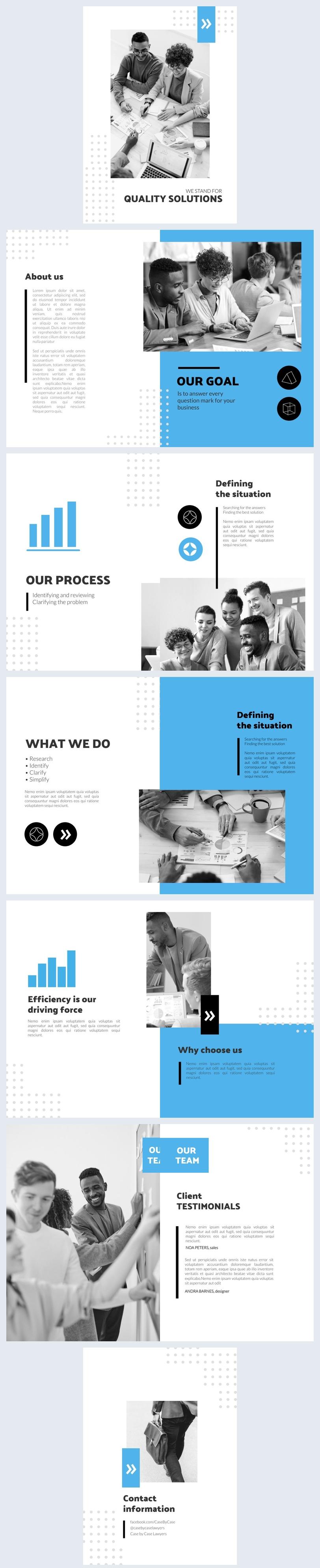 Editierbares 12-Seitiges Booklet-Layout-Design