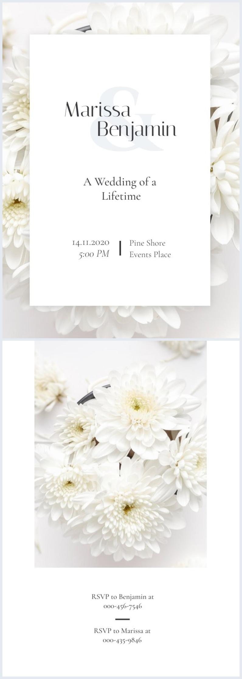 Design de Convite de Casamento Grátis