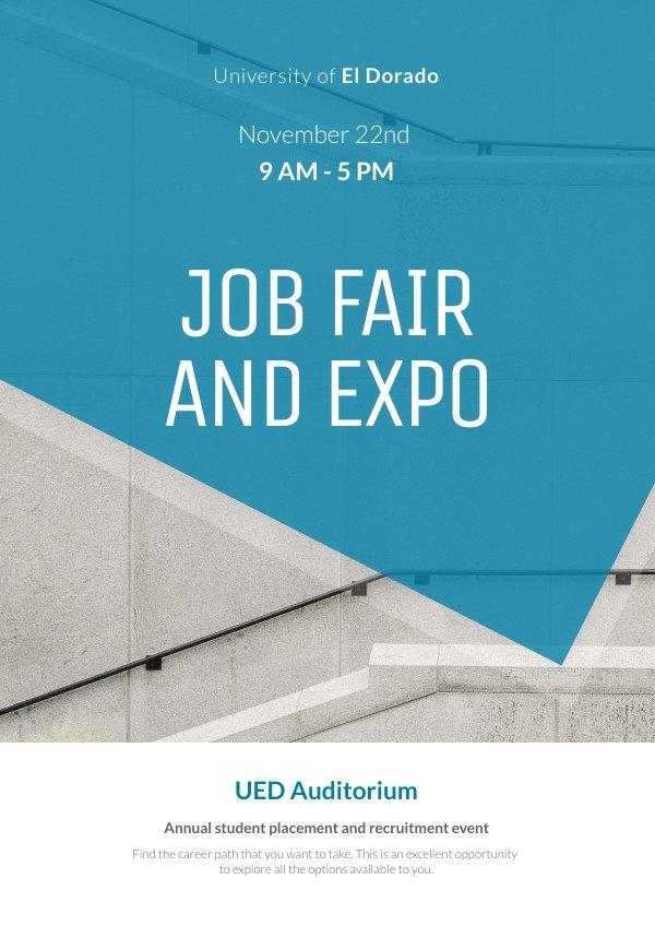 University Event Poster Design Example