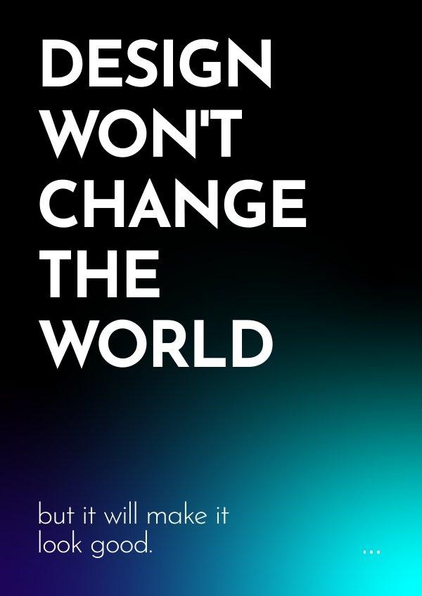 Idea inspiradora para cartel de diseño gráfico
