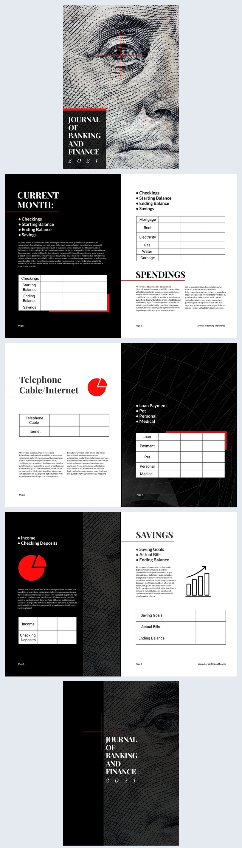 Journal of Banking & Finance Design Example