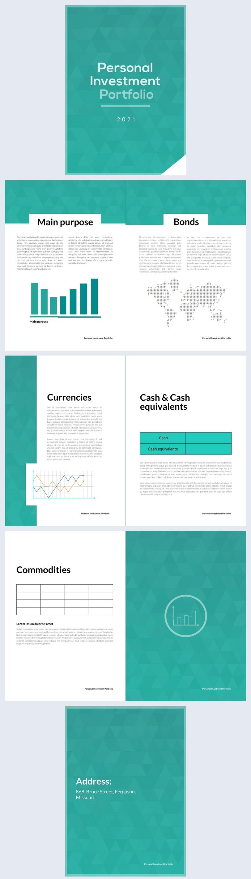 Personalized Investment Portfolio Design Example