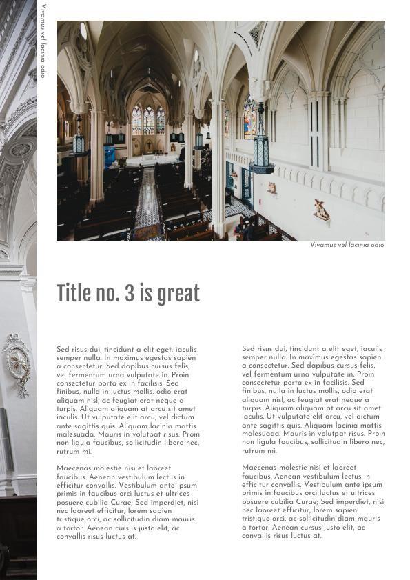 professional architecture portfolio template design flipsnack