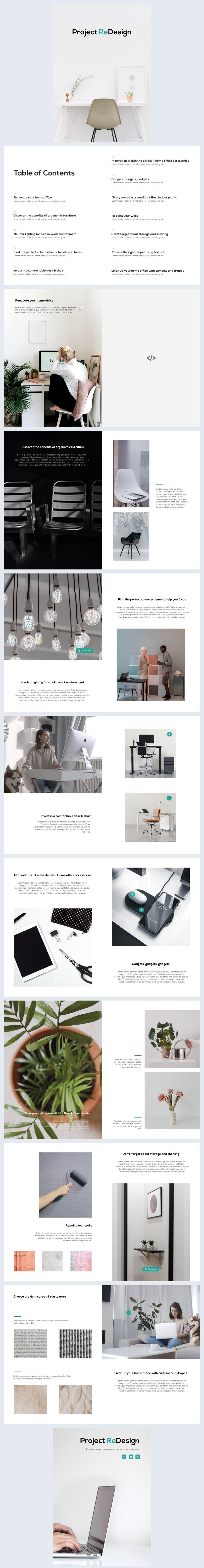 Interactive Design Project Magazine Sample