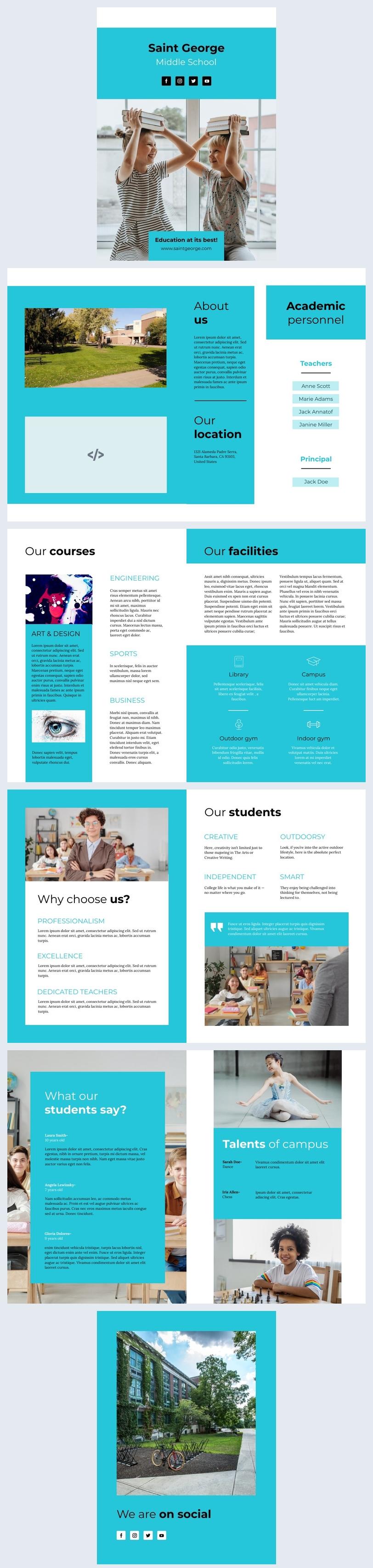 Interactief Onderwijs Flipbook Ontwerp Voorbeeld