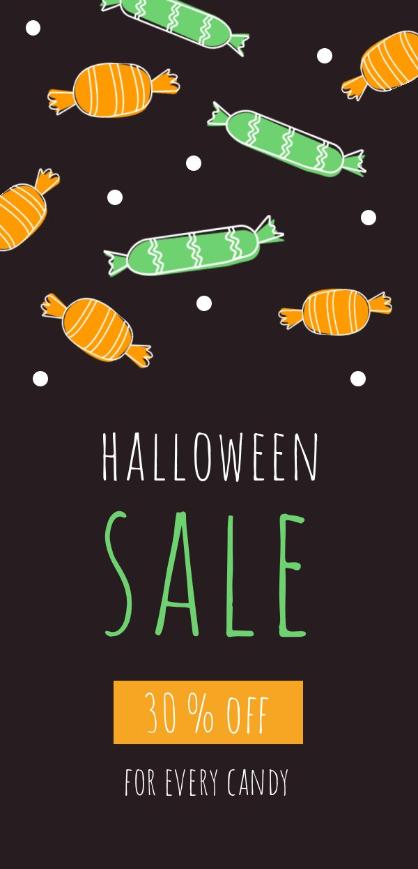 Halloween Candy Sale Template Amp Design Flipsnack