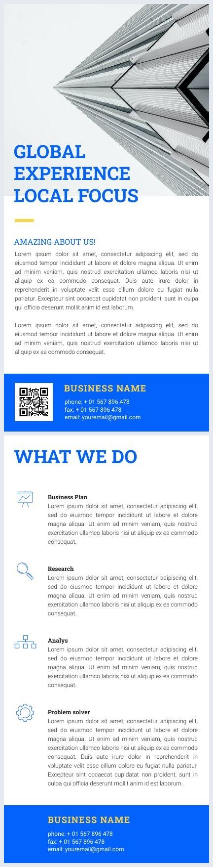 Modern Zakelijke Flyer Ontwerp Voorbeeld