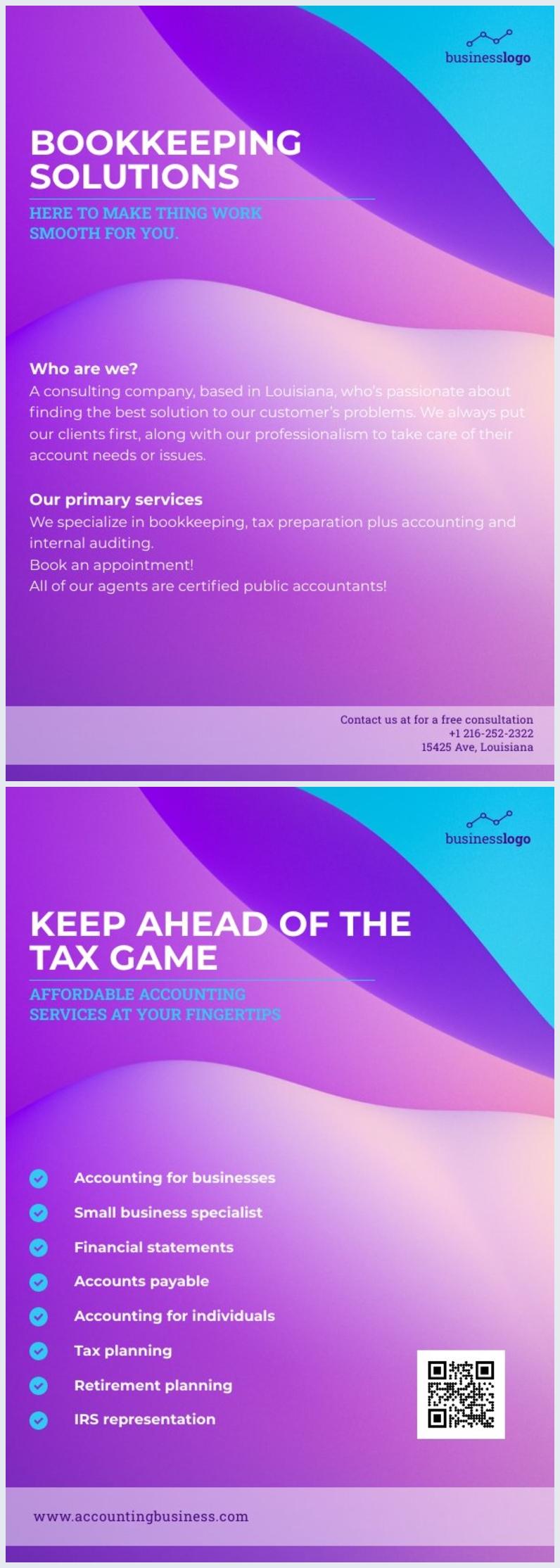 Gratis Online Creative Zakelijke Flyer Voorbeeld