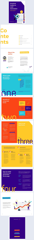 Esempio di grafica gratuito per eBook con generazione di lead