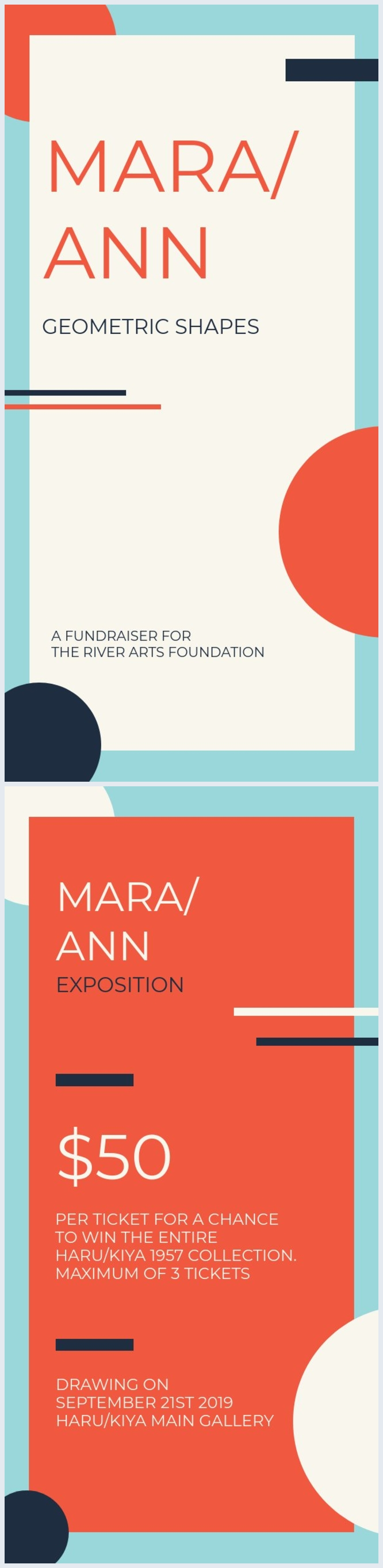Fundraiser Flyer Example